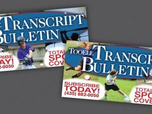 Transcript Bulletin – Banners