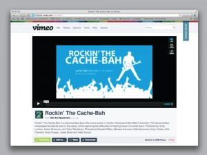 Rockin' the Cache-Bah