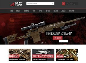 New website for Peak Firearms based out of Tooele, Utah. They provide firearms, parts, accessories and certifications across the state.