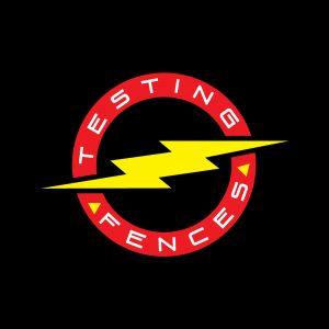 New Testing Fences Logo designed to work on light or dark backgrounds.