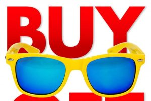 Shot Product Photography and Led Design team for Buy 1 Get 1 Free Solize™ Sunglasses Campaign.
