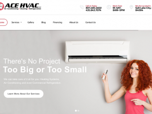 Ace Heating & Air Website