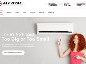 Ace Heating & Air Website