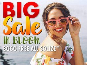 Women's BOGO Solize™ Email Campaign