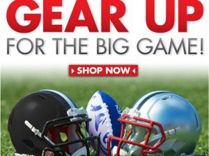 Big Game Email Campaign