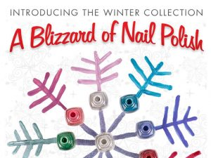 Blizzard of Nail Polish Email Campaign