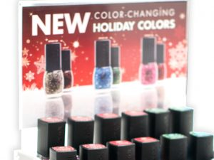 Holiday Polish Display
