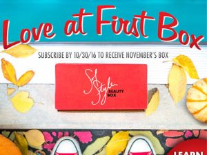 Love At First Box Email Campaign