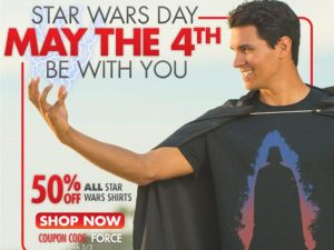 Star Wars Day Email Campaign