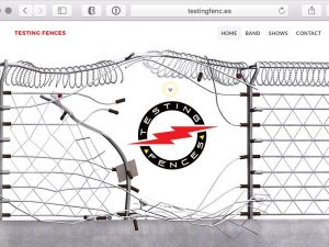 Testing Fences Website