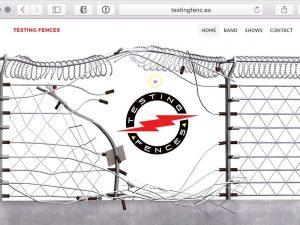 Testing Fences Website