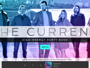 The Current Band Website